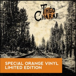 Theo Charaf edition limitée vinyle orange