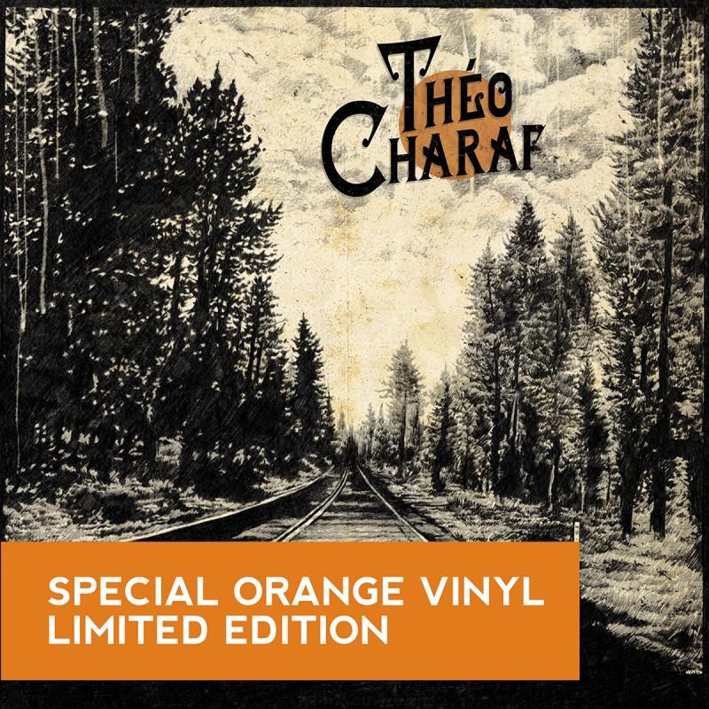 Theo Charaf edition limitée vinyle orange