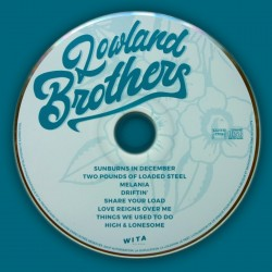Lowland Brothers, premier album disponible en vinyl et CD DIGISLEEVE