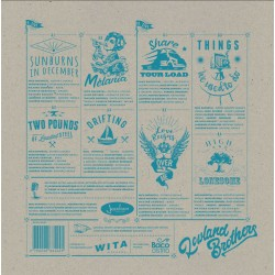 Lowland Brothers, debut album vinyl and DIGISLEEVE CD