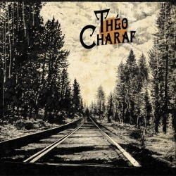 Théo Charaf first album vinyl edition , cover artwork by Jean Luc navette
