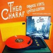 #theocharaf limited orange edition #bandcampfriday #folkblues #singersongwriter #orange #vinylpressing #vinylcollection @manufacturevinyle